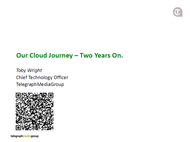 Telegraph Media Group's Cloud Journey - Two Years On