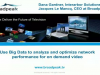 Use Big Data to analyze and optimize network performance for on demand video