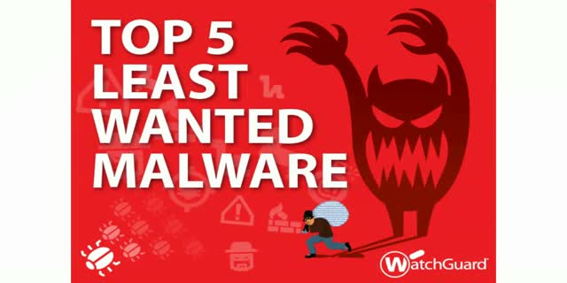 Top 5 Least Wanted Malware