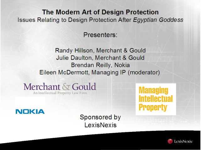 The Modern Art of Design Protection