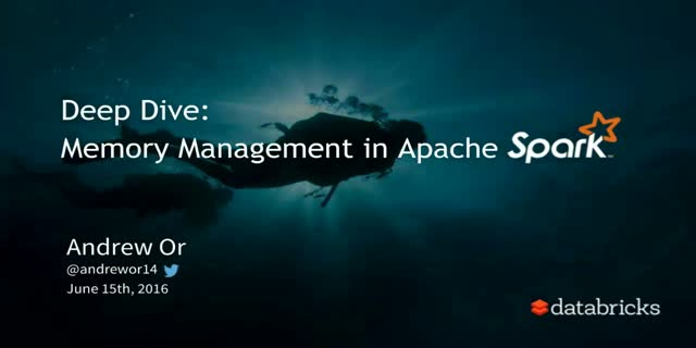 Deep Dive: Apache Spark Memory Management