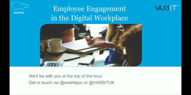 Employee Engagement in the Digital Workplace