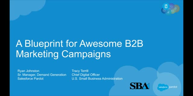 A Blueprint for Awesome B2B Marketing Campaigns
