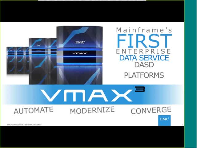 VMAX3 Revolutionizes Mainframe Storage