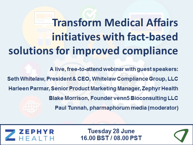Transforming Medical Affairs with fact-based solutions and improved compliance