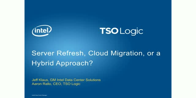 Server Refresh, Cloud Migration, or a Hybrid Approach?