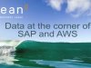 Data at the corner of SAP and AWS