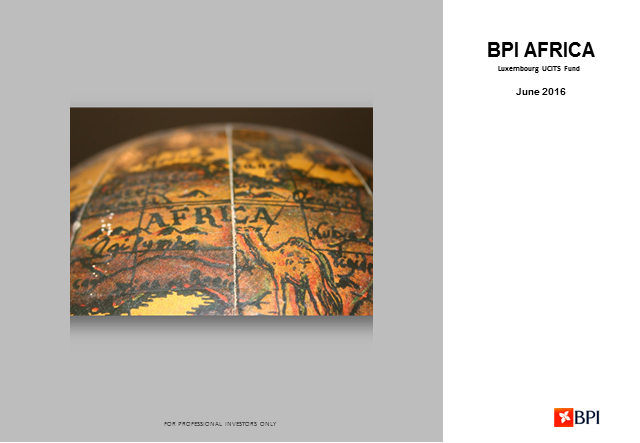 2nd Quarter Review BPI Africa - Equity Fund