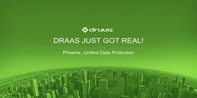 DRaaS Just Got Real! Public Cloud Democratizes Disaster Recovery