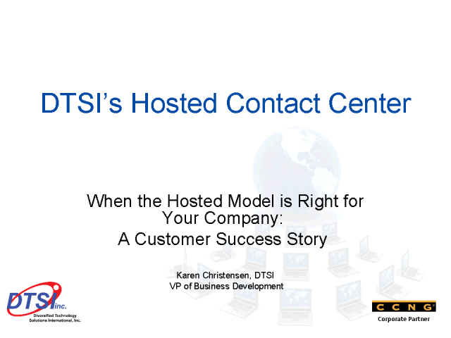 A Hosted Contact Center Success Story