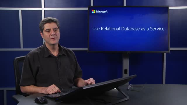 Use Relational Database as a Service