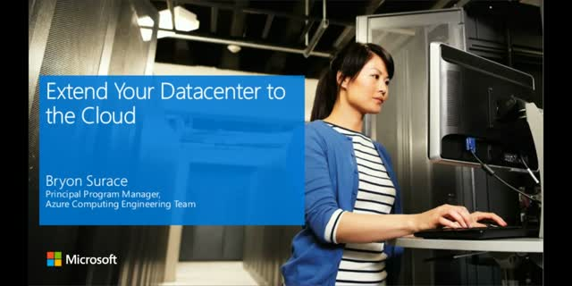 Extend Your Datacenter to the Cloud