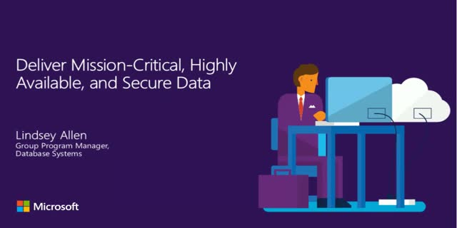 Deliver Mission-Critical, Highly Available, and Secure Data
