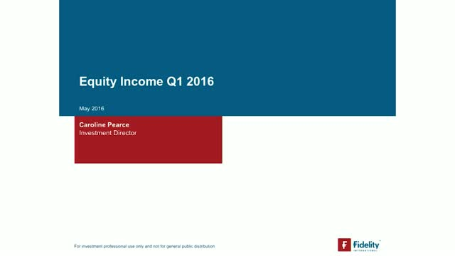 Equity Income Q1 2016