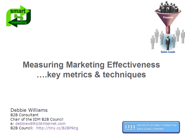 Measuring Marketing Effectiveness - Key Metrics & Techniques