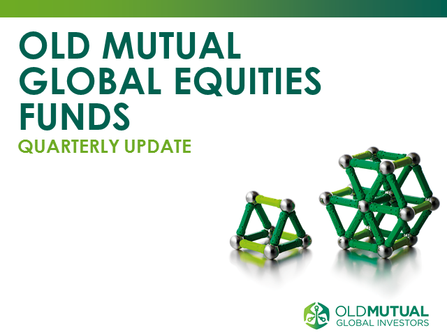 Old Mutual Global Equities Q2 2016 update call with Dr. Ian Heslop - PM