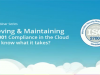 Achieving & Maintaining ISO 27001 Compliance in the Cloud