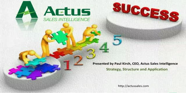 Sales Strategy, Structure and Application
