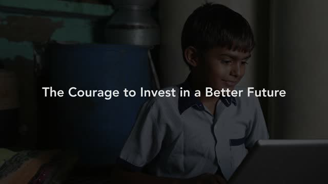 Capital Group: The Courage to Invest in a Better Future