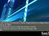 Fast & Furious Analytics: New Approaches to Big Data with SanDisk® and IBM