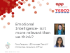 Emotional intelligence: is it more relevant than we think?