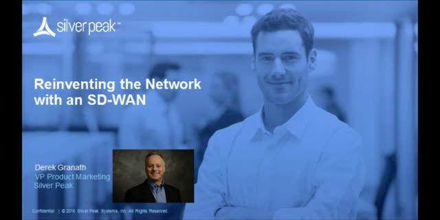 Reinventing the network with an SD-WAN