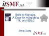 A Case for integrating ITIL® and Software Development Life Cycle