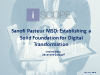 Establishing a Solid Foundation for Digital Transformation