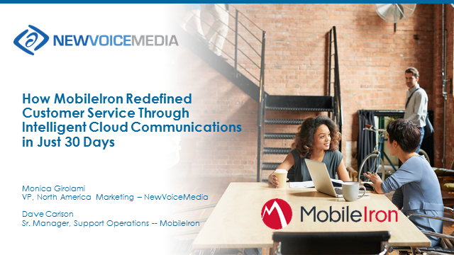 How MobileIron Redefined Customer Service in just 30 Days