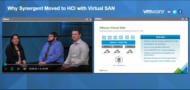 Why Synergent Moved to HCI with Virtual SAN