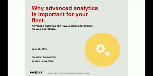 Why Advanced Analytics is Important for your Fleet