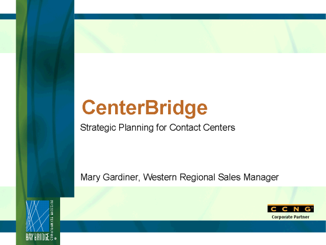 The New Age of Strategic Planning in the Contact Center