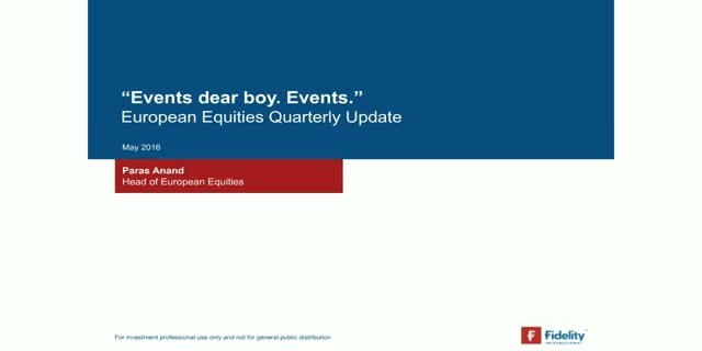 European Equities Quarterly Update