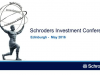 Scotland/Manchester Investment Conference - US Equities outlook
