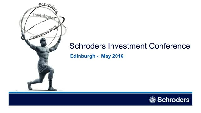 Scotland/Manchester Investment Conference - Global Cities