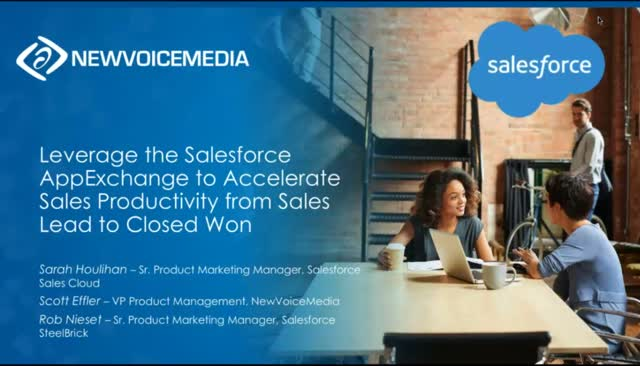 Leverage the Salesforce AppExchange to Accelerate Sales Productivity