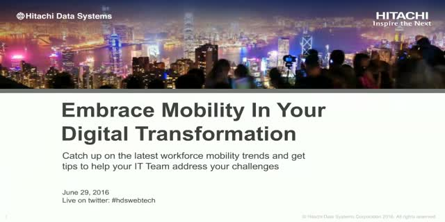 Embrace Mobility in Your Digital Transformation