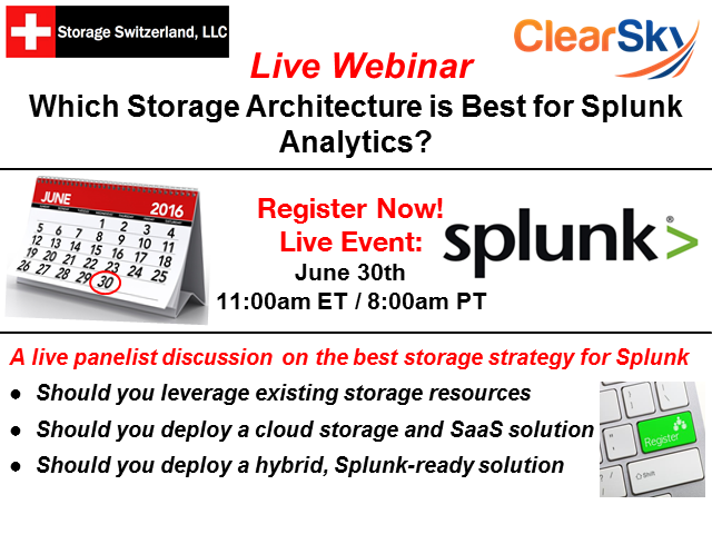 Which Storage Architecture is Best for Splunk Analytics?