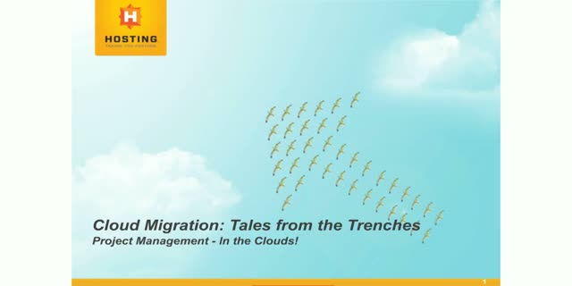 Cloud Migration: Tales from the Trenches