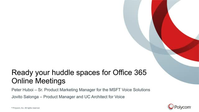 Ready Your Huddle Spaces For Office 365 Online Meetings