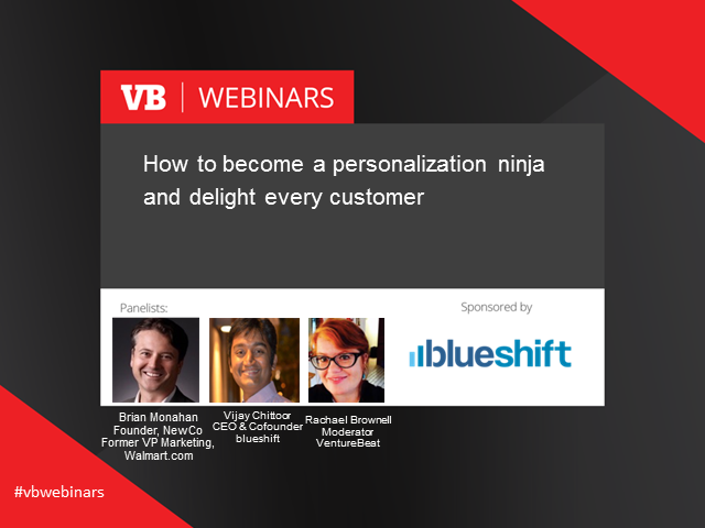 How to become a personalization ninja and delight every customer