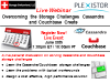 Live Webinar: Overcoming the Storage Challenges Cassandra and Couchbase Create