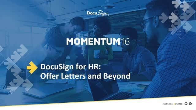DocuSign for HR: Offer Letters & Beyond