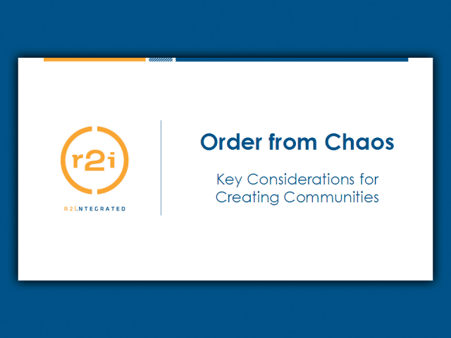 Creating Order from Chaos in Communities: Curating User Content