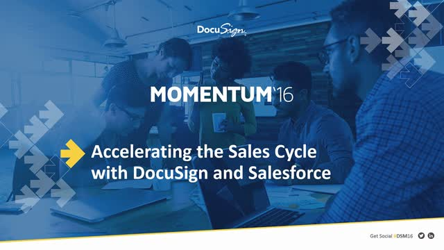 Accelerating the Sales Cycle with DocuSign and Salesforce