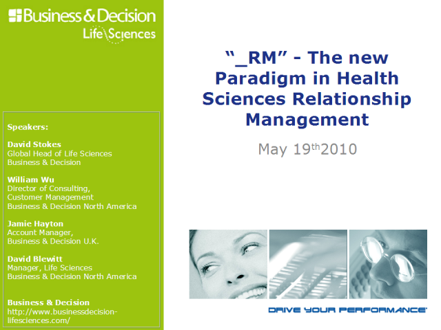 _RM - The new Paradigm in Health Sciences Relationship Management