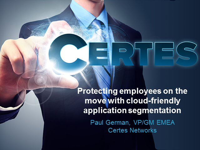 Protecting employees on the move with cloud-friendly application segmentation