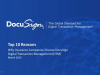 Top 10 Reasons why Insurance Companies Choose DocuSign