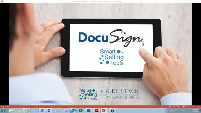 Sales Stack Seminar Series with DocuSign and Smart Selling Tools