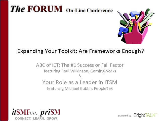 Expanding Your Toolkit Part II: Are Frameworks Enough?